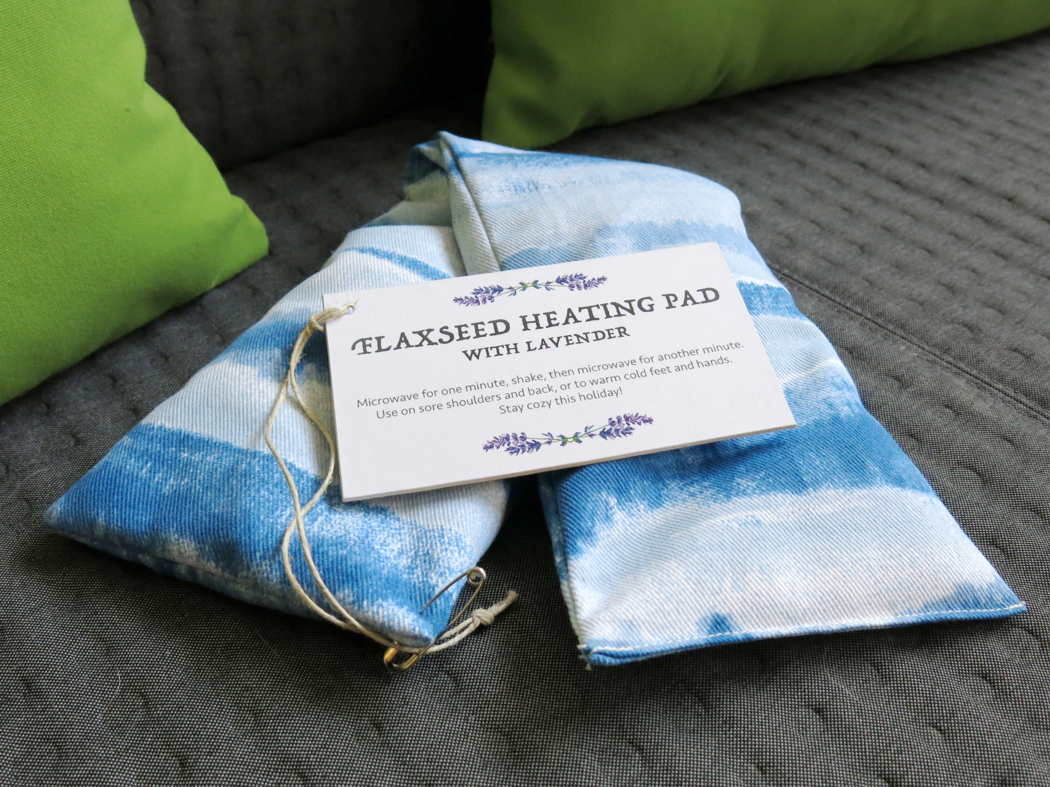 Picture of Flaxseed Heating Pad