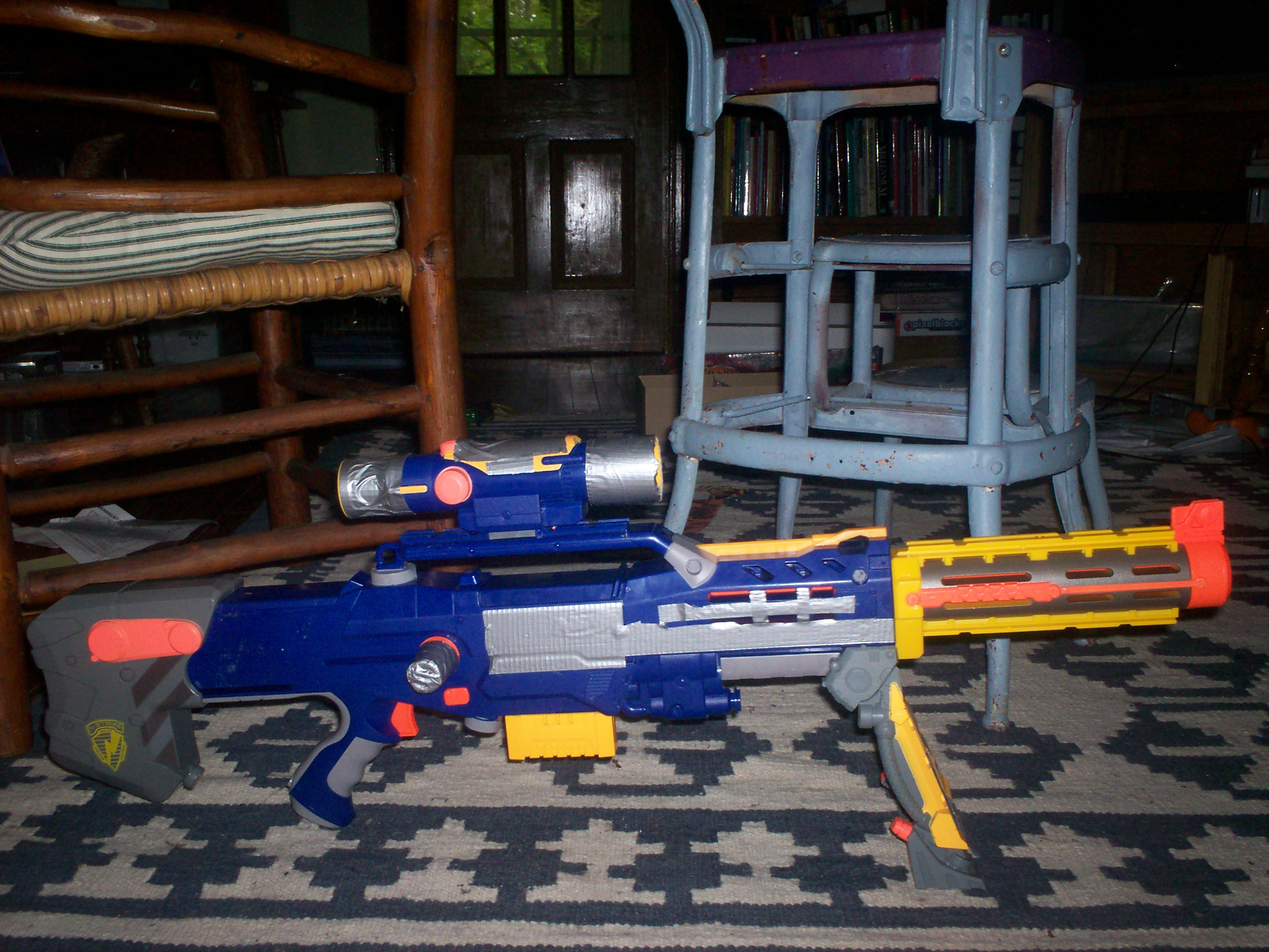 Picture of Nerf Longshot Modification