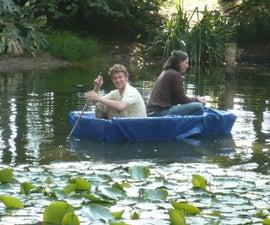 Easy tarp boat