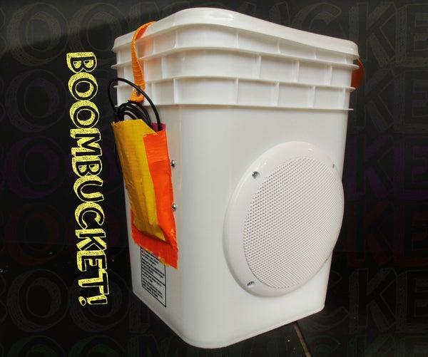 BoomBucket: the Boombox Bucket!
