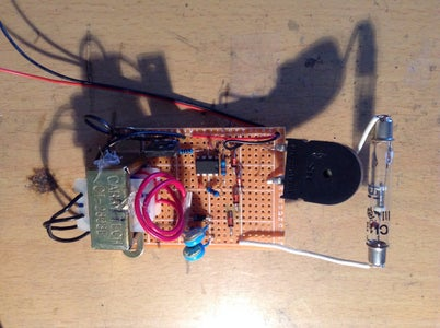 Soldering the Oscillator and Mosfet