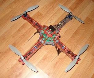 RC Quadrotor Helicopter