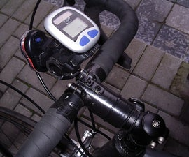 handlebar mount for extra equipment (clip on) bicycle