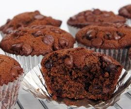 Double Chocolate Muffins Recipe