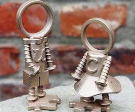 You & Me - bronze statuettes