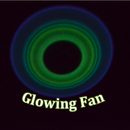 Glowing Ceiling Fan