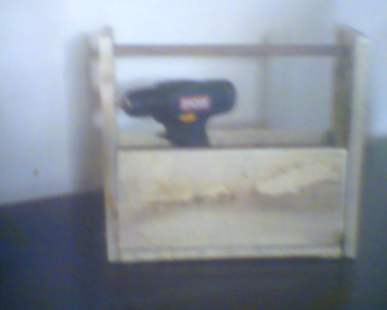 Picture of Tool Carrier Out of Pallets Panels.