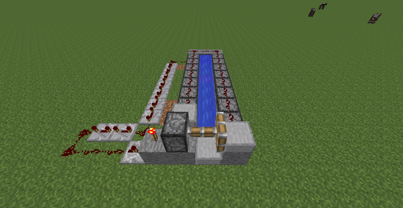 Picture of Minecraft Anvil Cannon