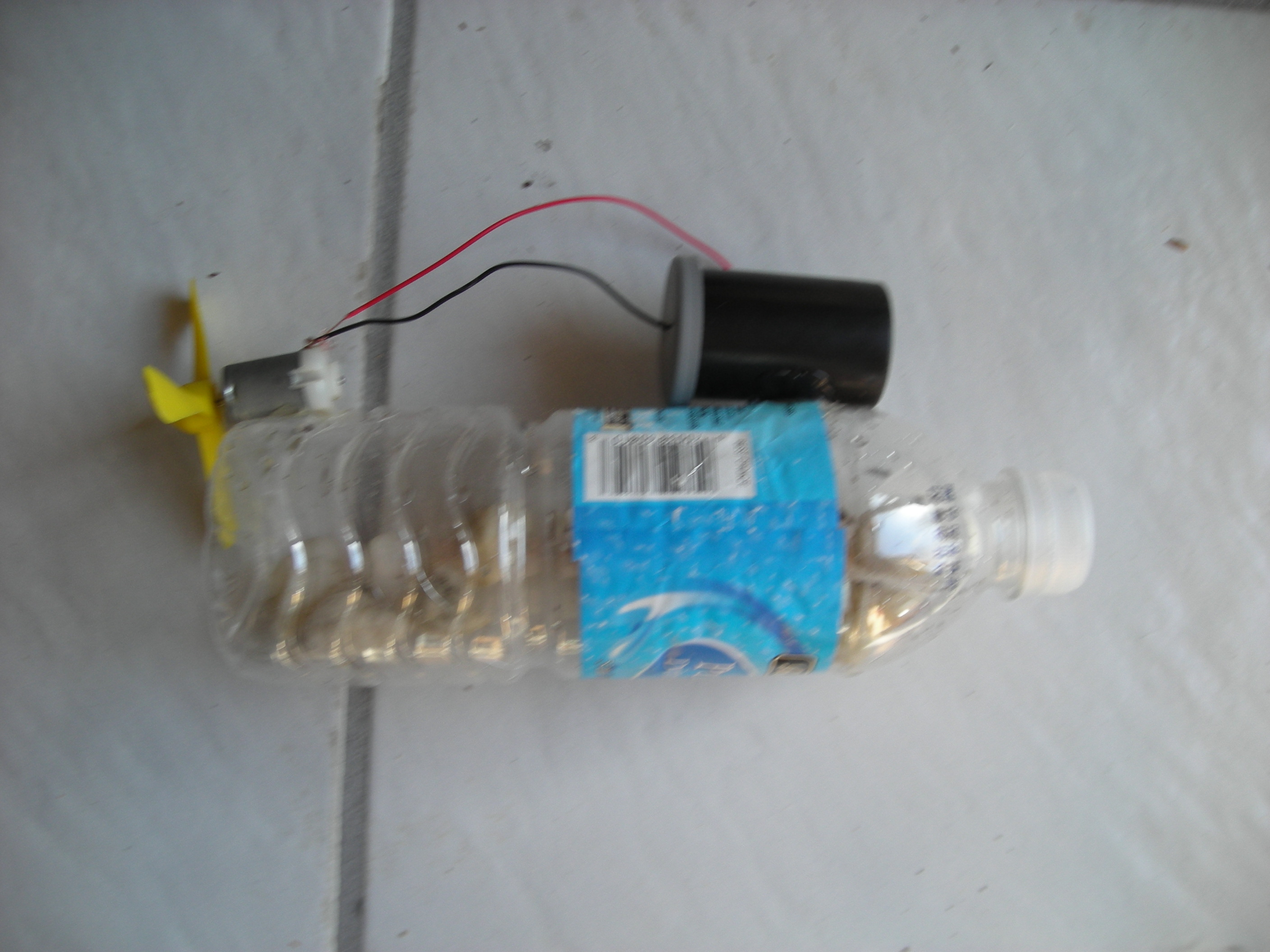 Picture of Water Bottle Boat