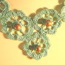 Crochet Medallion Necklace