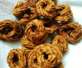 Murukku - A Spicy Asian Fried Cookie!
