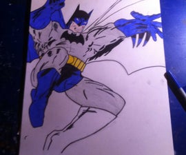 Wie Man Batman Malt