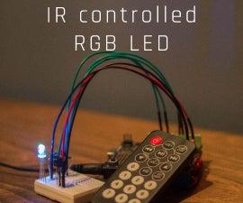 IR controlled RGB LED