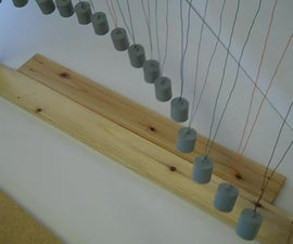 Pendulum Wave - From Shop Scraps