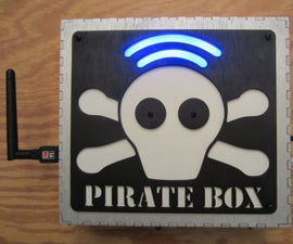 Raspberry Pi PirateBox