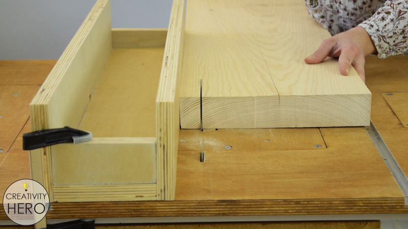 Picture of Cutting All the Pieces to Size.