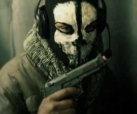 """""""CALL OF DUTY GHOSTS"""" Mask"""