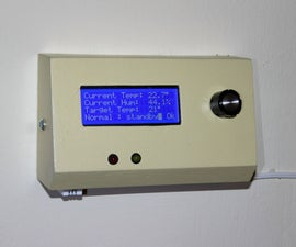 Home Thermostat With Arduino and Big LCD