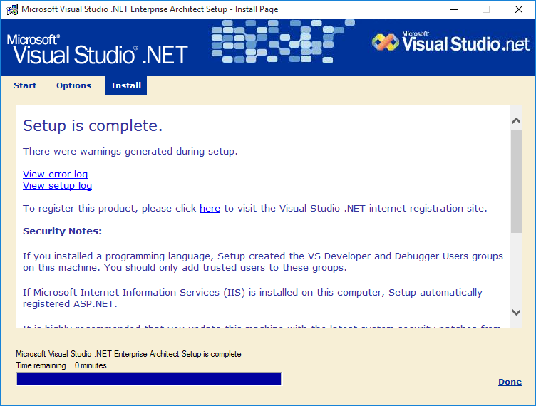 Picture of Install Visual Studio