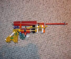 Mod the Mini ZT456 gun into airsoft pistol