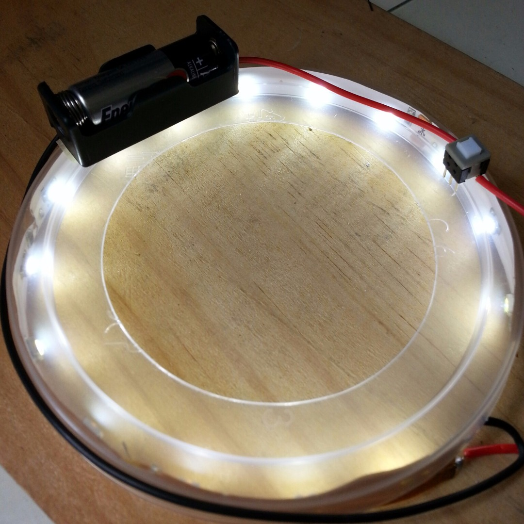 Picture of DIY LED Ring Light for Miniatures/Macro Photography for Less Than USD$10