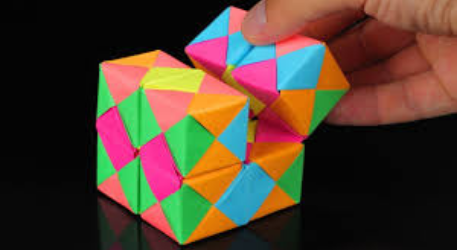 Picture of Paper Infinity Cube