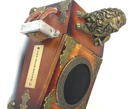 Azurophone - a Marvelous Steampunk Bluetooth Speaker