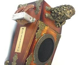 硫酮 - 一个奇妙的蒸汽朋克蓝牙音箱