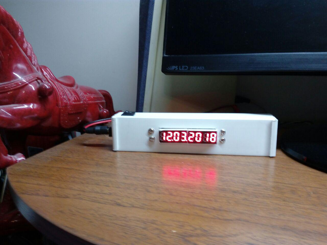 Picture of A Cute Date, Time and Temperature Display Unit