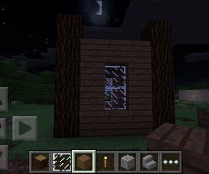 Quick Minecraft PE House