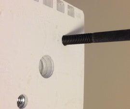 Embedding hardware into 3d Print