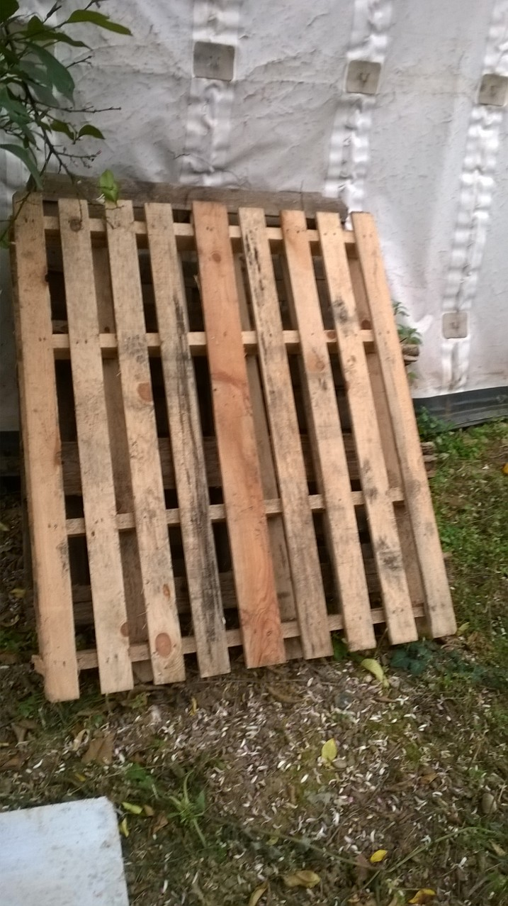 Picture of Pallet Wooden Bench