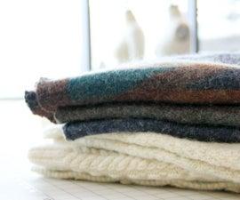 Felting Wool Sweaters