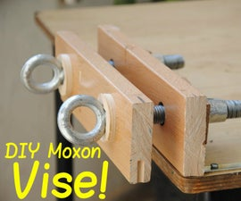 How to Build a Twin-Screw Vise   DIY Woodworking Tools #10