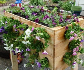Making an Inexpensive Planter Box