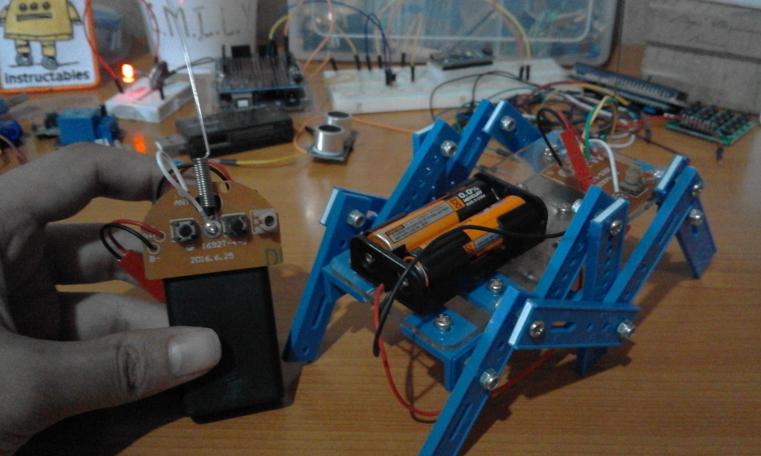 Picture of EMIREN™ (The Radio Controlled Crawler Robot)