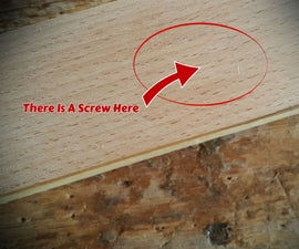 How to Hide a Screw