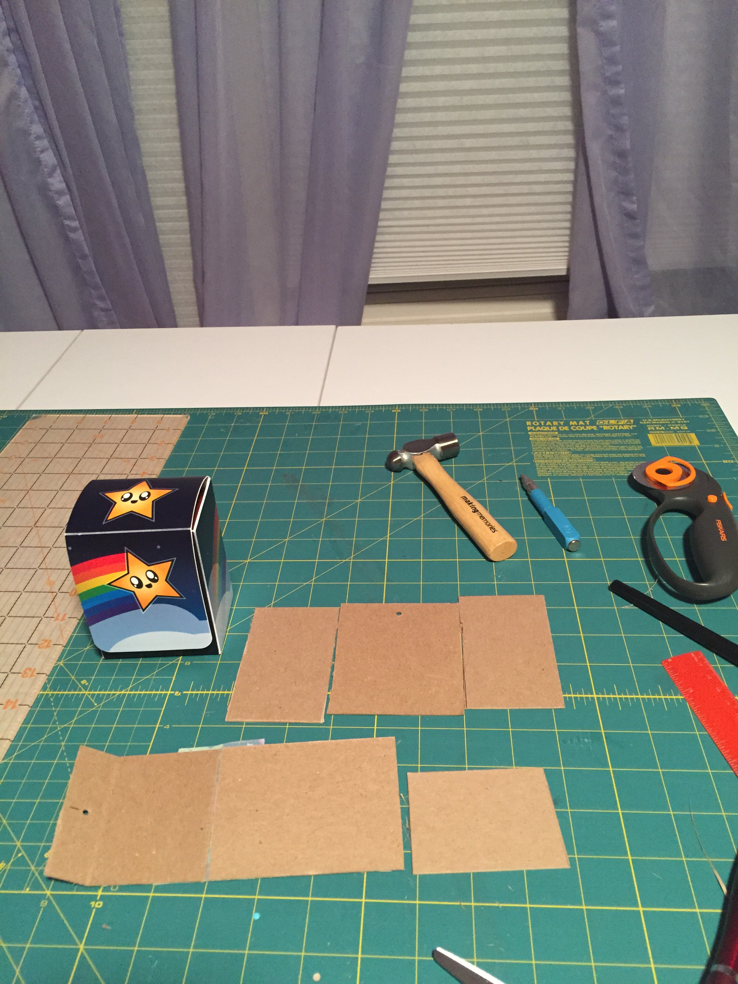 Picture of Cut Out Pieces