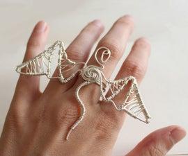 Wirework Dragon Ring