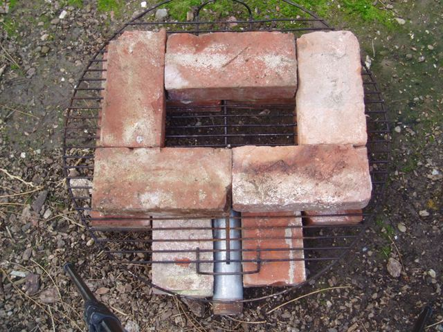 Picture of Assemble the Firebox and Chimney