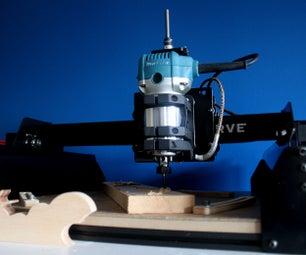 Spindle Mount Makita Tro 700C & Optical Sensor for Tachometer ( for X Carve)