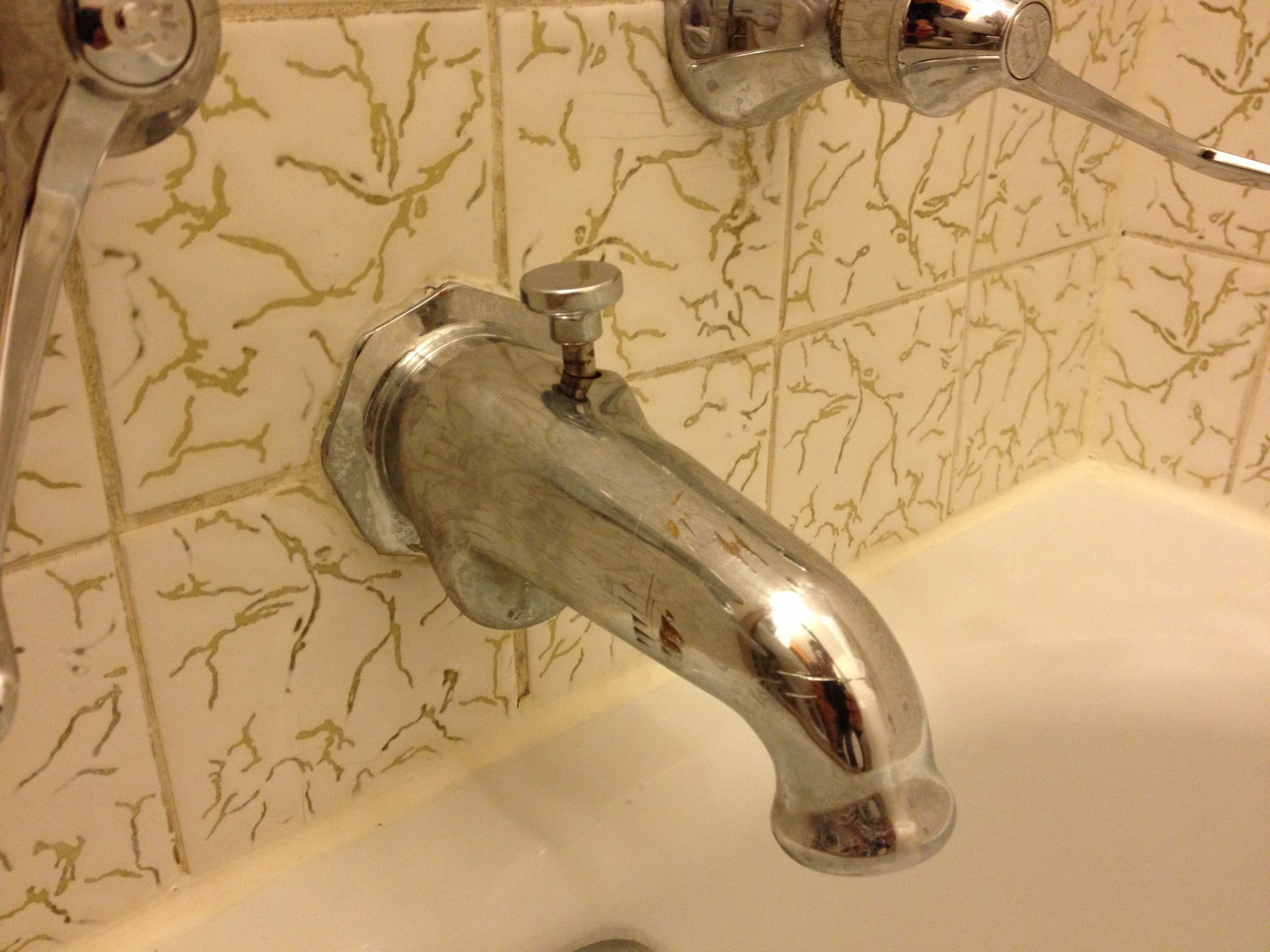 Repair a Tub Filler Diverter With Stripped Threads: 5 Steps (with ...
