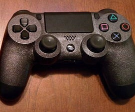 How to Modify a PlayStation 4 Controller: Paint and Thumb Sticks