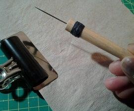 make your own bookbinding awl