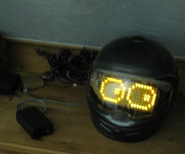 Costume: LED Helmet With Animations