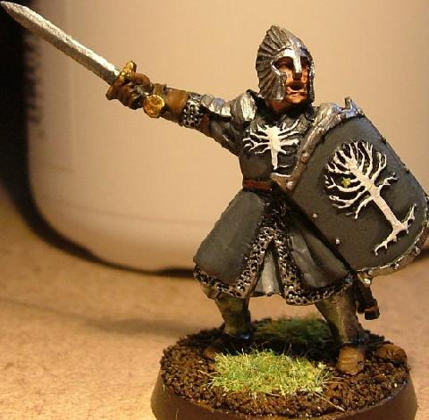 Picture of Painting a New Version of the Games Workshop: Warrior of Minas Tirith