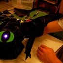 Toothless, the Roaring Plush Puppet