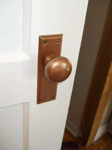 Clean and Re-finish Old Door Knobs and Hardware