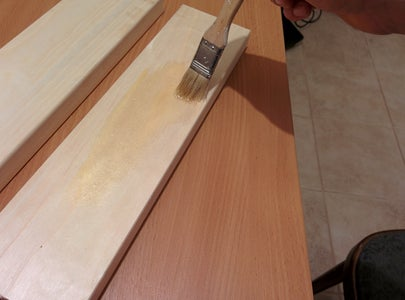 Drilling and Glueing