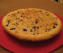 Mom's Blueberry Crumb Pie
